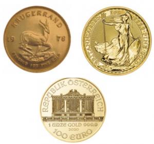 Es rentable comprar monedas de oro